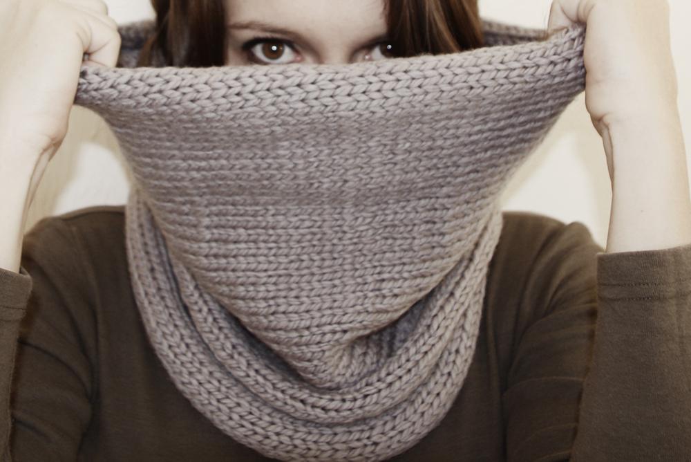 comment tricoter tour de cou