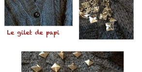 gilet clous DIY 1