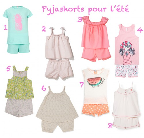pyjamas short