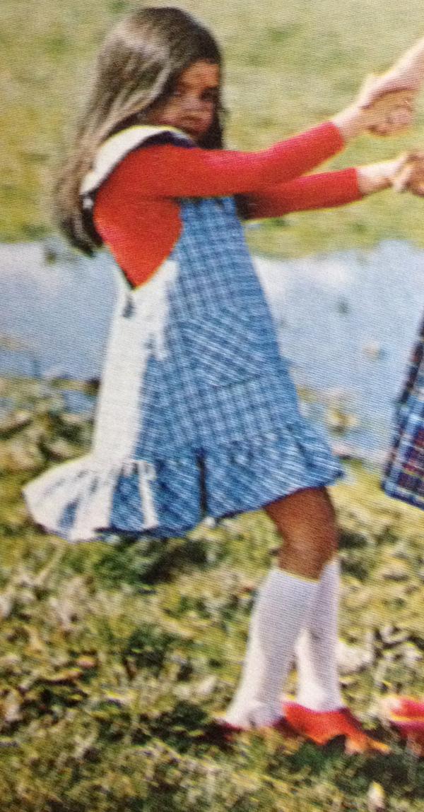 defi vintage #2 robe fillette 4 et 6 ans